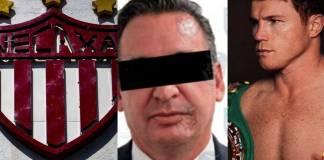 Detienen por fraude al empresario Jaime Galván, patrocinador del Necaxa y el Canelo