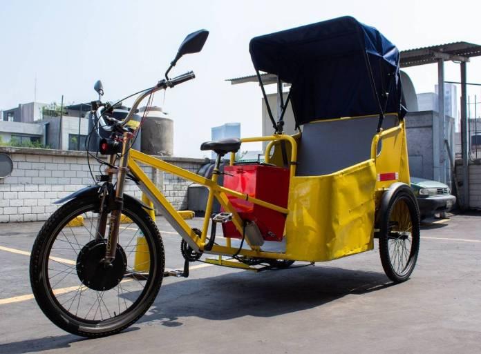 Nuevos modelos de ciclotaxis darán servicio en calles del Centro Histórico