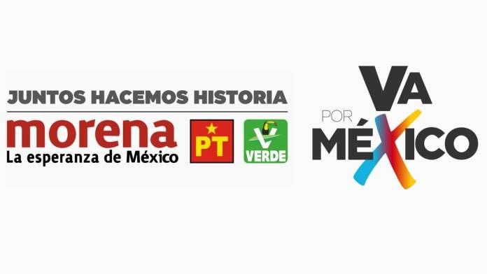 """Alianza """"Juntos Hacemos Historia"""" gana el doble de distritos que """"Va por México"""""""