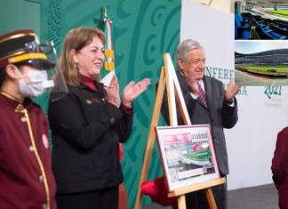 Palco en el Estadio Azteca, depas, mansiones y más en sorteo de la Lotería Nacional: AMLO