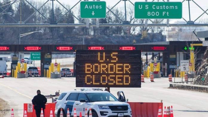 Se extiende hasta el 21 de julio el cierre de la frontera con EU