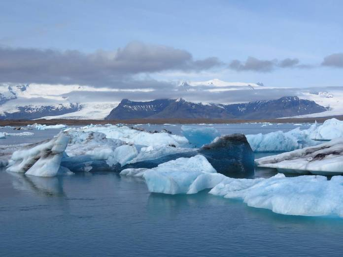En los últimos 20 años ha desaparecido el 7% de los glaciares de Islandia