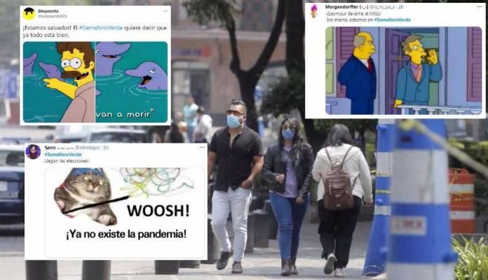 Semáforo verde: Estallan las redes sociales con críticas y festejos