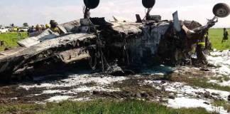 Se desploma avioneta en aeropuerto de Durango
