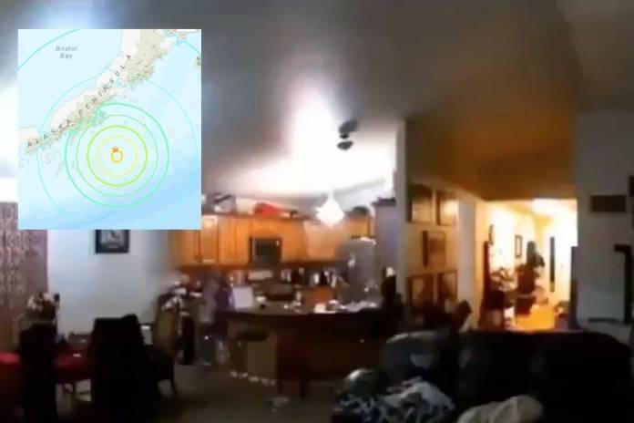 Así se vivió el terremoto magnitud 8.2 en Alaska