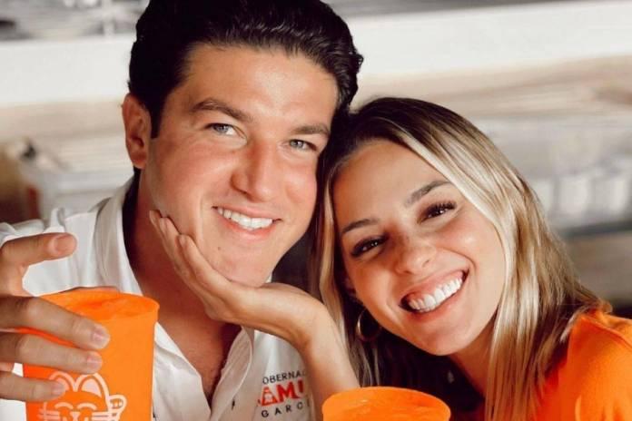 INE multa a Samuel Garcia por fotos difundidas por su esposa Mariana Rodriguez