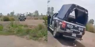 Cachan a policías teniendo relaciones sexuales en una patrulla en Ecatepec