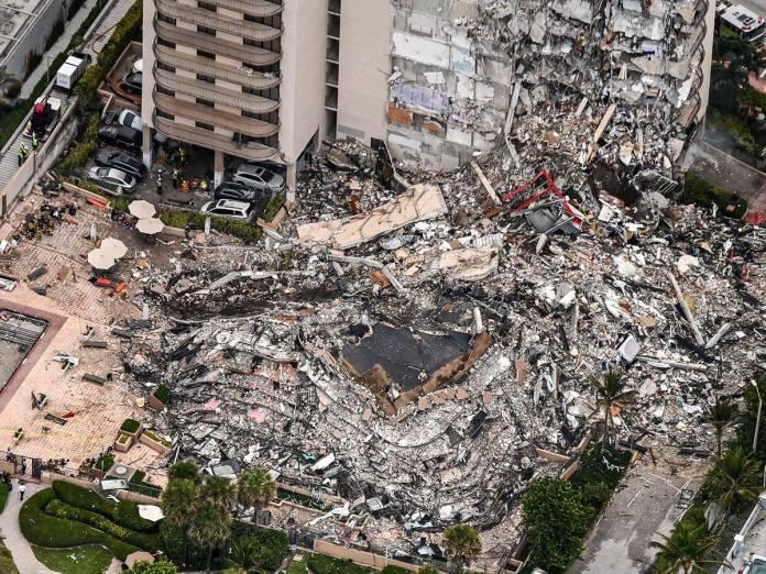 Encuentran 3 cuerpos más en edificio que se derrumbó en Florida