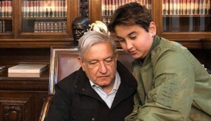 AMLO informa que su hijo menor se contagió de Covid-19