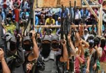 "Nace nuevo grupo de autodefensas, ""Los Machetes"", se presenta en Pantelhó"