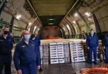 Rusia envía 88 toneladas de ayuda humanitaria a Cuba