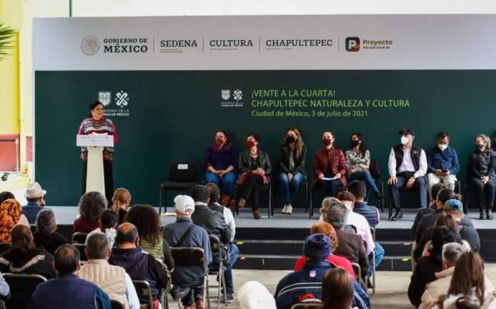 cuarta seccion chapultepec  - Convierten campo militar en nueva sección de Chapultepec