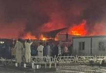 ¡Terrible tragedia! Incendio en hospital Covid deja más de 90 muertos en Irak