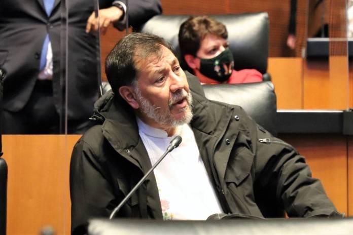 Fernández Noroña revela que es positivo a Covid-19