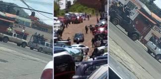 Sicarios armados se pasearon en Pátzcuaro, irrumpen en la localidad