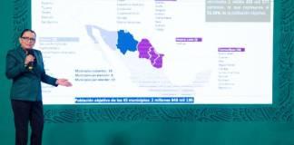 En agosto se concluiría vacunación en municipios de la frontera norte: SSPC