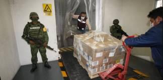 Birmex envasa casi 900 mil vacunas de AstraZeneca, listas para distribuirse