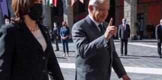 AMLO y Harris sostienen hablan por teléfono nuevamente