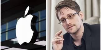 Apple está implementado un nuevo sistema de vigilancia masiva: Snowden