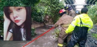 Continúa la búsqueda de joven que fue arrastrada por una corriente en Tlalnepantla