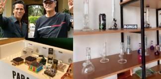 Fox y Palazuelos abren tienda de productos derivados de la mariguana