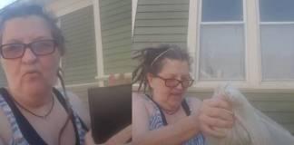 Mujer tiró a la basura las cenizas de su esposo golpeador