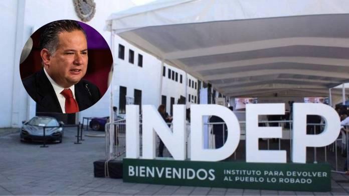 INDEP NIETO - Dinero decomisado al crimen organizado debe integrarse al Indep y Tesofe: Santiago Nieto