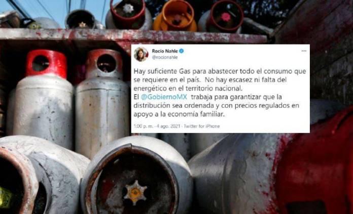 Hay suficiente gas para abastecer el consumo que requiere el país: Rocío Nahle