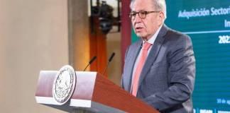 Se han recibido 265 millones de piezas médicas: Jorge Alcocer