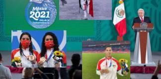 AMLO pide no culpar a deportistas olímpicos; entregará reconocimientos