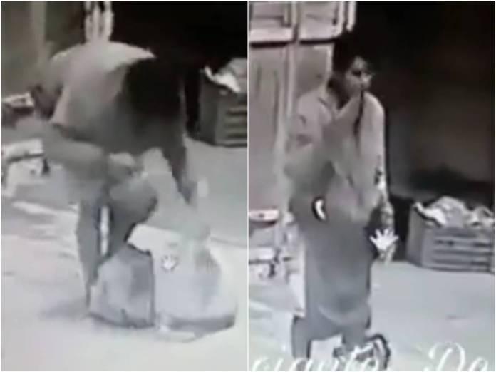 hombre carga cabeza humana - Video: Hombre es detenido con una cabeza humana en Puebla