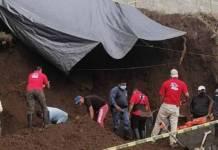 Dos albañiles murieron tras quedar sepultados tras derrumbe
