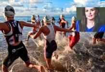 Filántropa Leticia Rico fallece durante la competencia Ironman de Cozumel