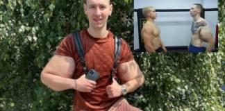 Brazos de joven conocido como el 'Popeye ruso' explotan durante combate