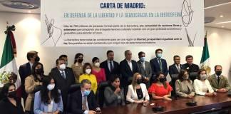 Panistas, aliados del partido ultraderechista español Vox