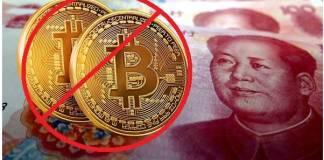 China prohíbe criptomonedas