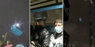 Ciudadanos grabaron imágenes sobre el movimiento de las cabinas del Cablebús de la Línea 2, tras el sismo de 7.1 que se registró esta noche.