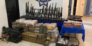 Tras jornada violenta entre el Cártel del Golfo y el Cártel del Noreste por el control de Tamaulipas, autoridades asesta golpe al crimen tras operativos.