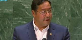 Presidente de Bolivia acusa en la ONU la participación de la OEA en los golpes de Estado