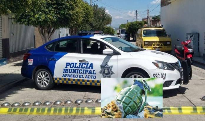 Encuentran granada al interior de una caja en Guanajuato, no hubo percances