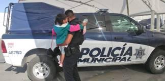 Niña de tres años deambulaba sola en calles de Tamaulipas