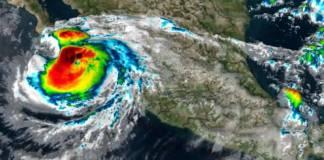 Alerta roja en Baja California Sur ante impacto del huracán Olaf