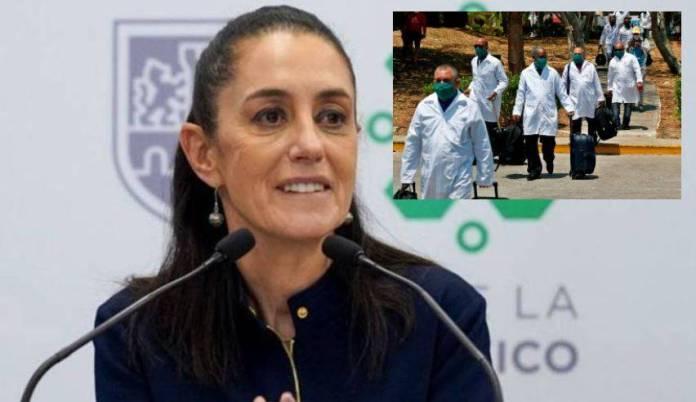 """""""No hay nada que esconder""""; Sheinbaum contratación de médicos cubanos"""