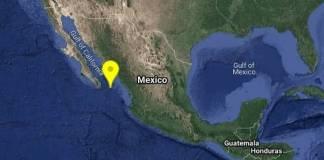 Se registra sismo de 5.6 grados en Baja California Sur