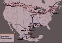 Tren unirá México, EU, Canadá