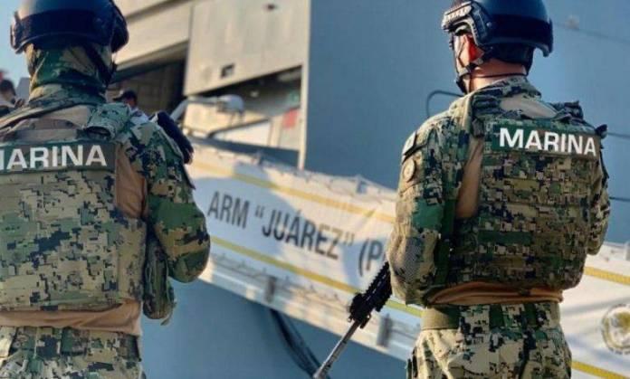 Semar decomisa dos toneladas metanfetaminas y huachicol en Baja California