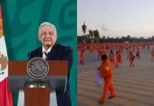 AMLO afirma que paro en refinería Dos Bocas es por conflicto sindical