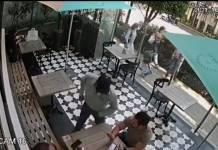 Ladrón roba a comensal en plena luz del día en terraza de Polanco