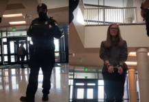 Estudiante es arrestada por negarse a usar cubrebocas en la escuela
