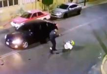 Policía de CDMX frustra robo a automovilista en Iztacalco